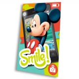 Fleece deka Mickey Smile 100/150