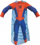 Fleece deka Spiderman s rukávy 100/150