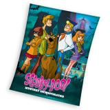 Fleece deka Scooby Doo 110/140 cm