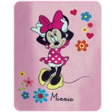 Fleece deka Minnie Liberty 110/140 cm