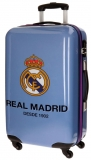 Cestovní kufr ABS Real Madrid One color one club blue 67 cm