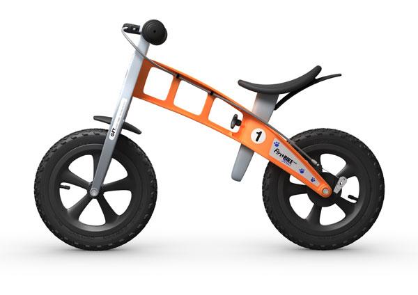 Odrážedlo First Bike Cross Orange