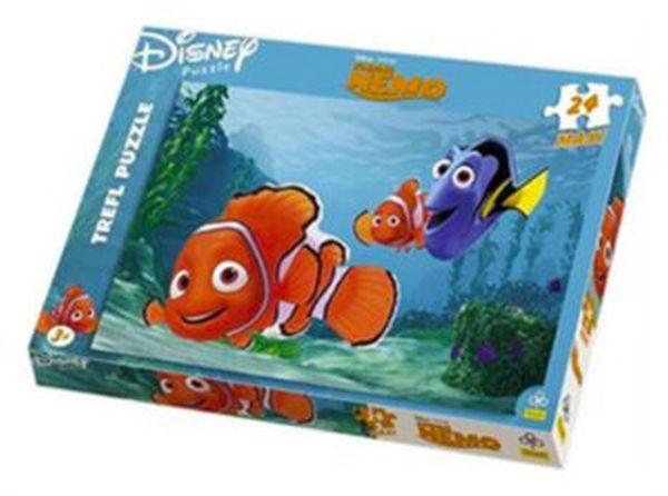 Trefl Maxi puzzle Hledá se Nemo papír 24 dílků