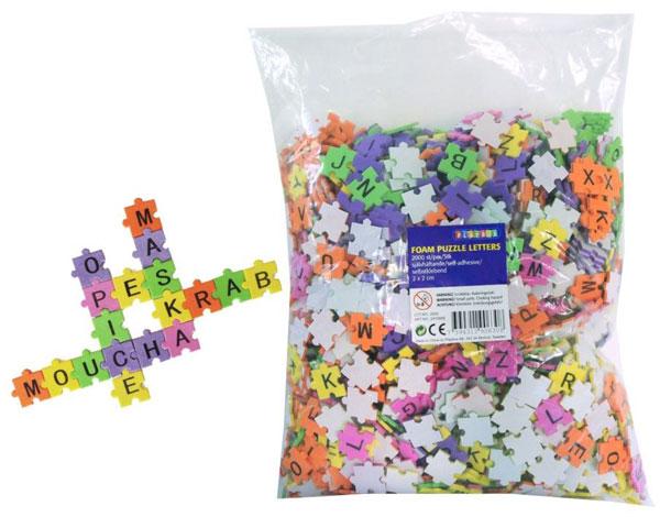 Trefl Puzzle scrabble Písmenka 2000 ks