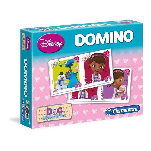Clementoni Domino Doktorka Plyšáková 20x15x4 cm