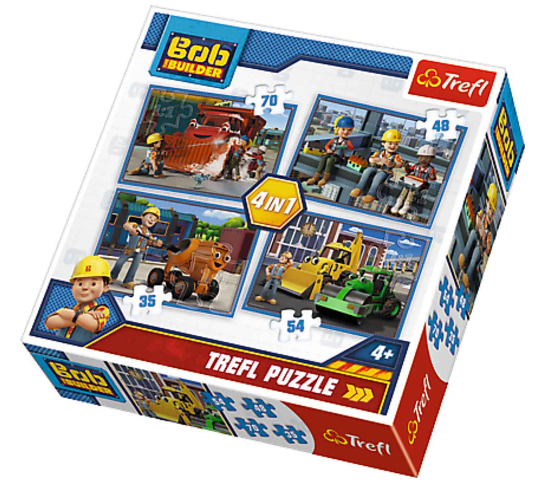 Trefl Puzzle Bořek Stavitel 4v1