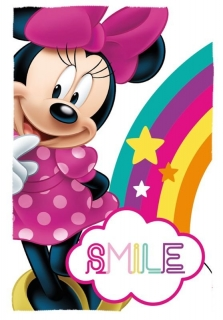Fleece deka Minnie Smile