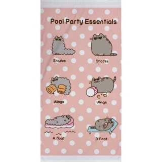 Osuška Pusheen Pool Party