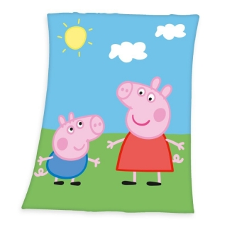 Fleece deka Peppa Pig
