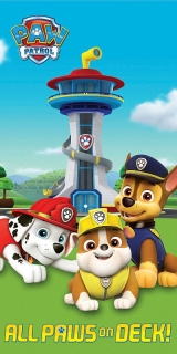 Osuška Paw Patrol All Paws