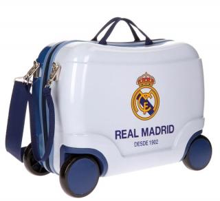 3c0245566 Dětský kufřík na kolečkách Real Madrid Futbol Time white empty