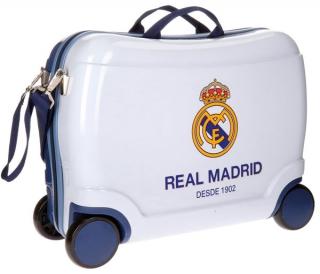 cb318dcfb Dětský kufřík na kolečkách Real Madrid Futbol Time white MAXI empty