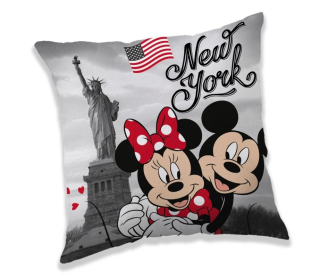 Polštářek Mickey a Minnie New York
